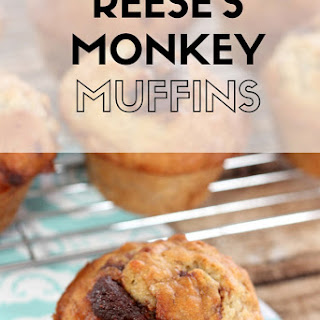 Reese's Monkey Muffins