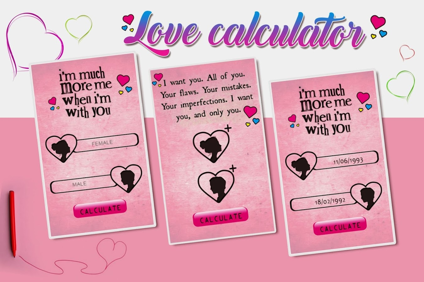 Uncategorized Love Calculate love calculator valentine day android apps on google play screenshot