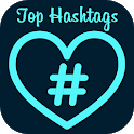Get more likes & followers hashtag icon