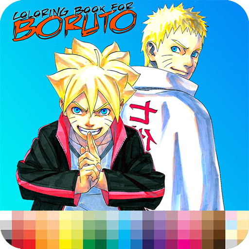 Coloring Boruto