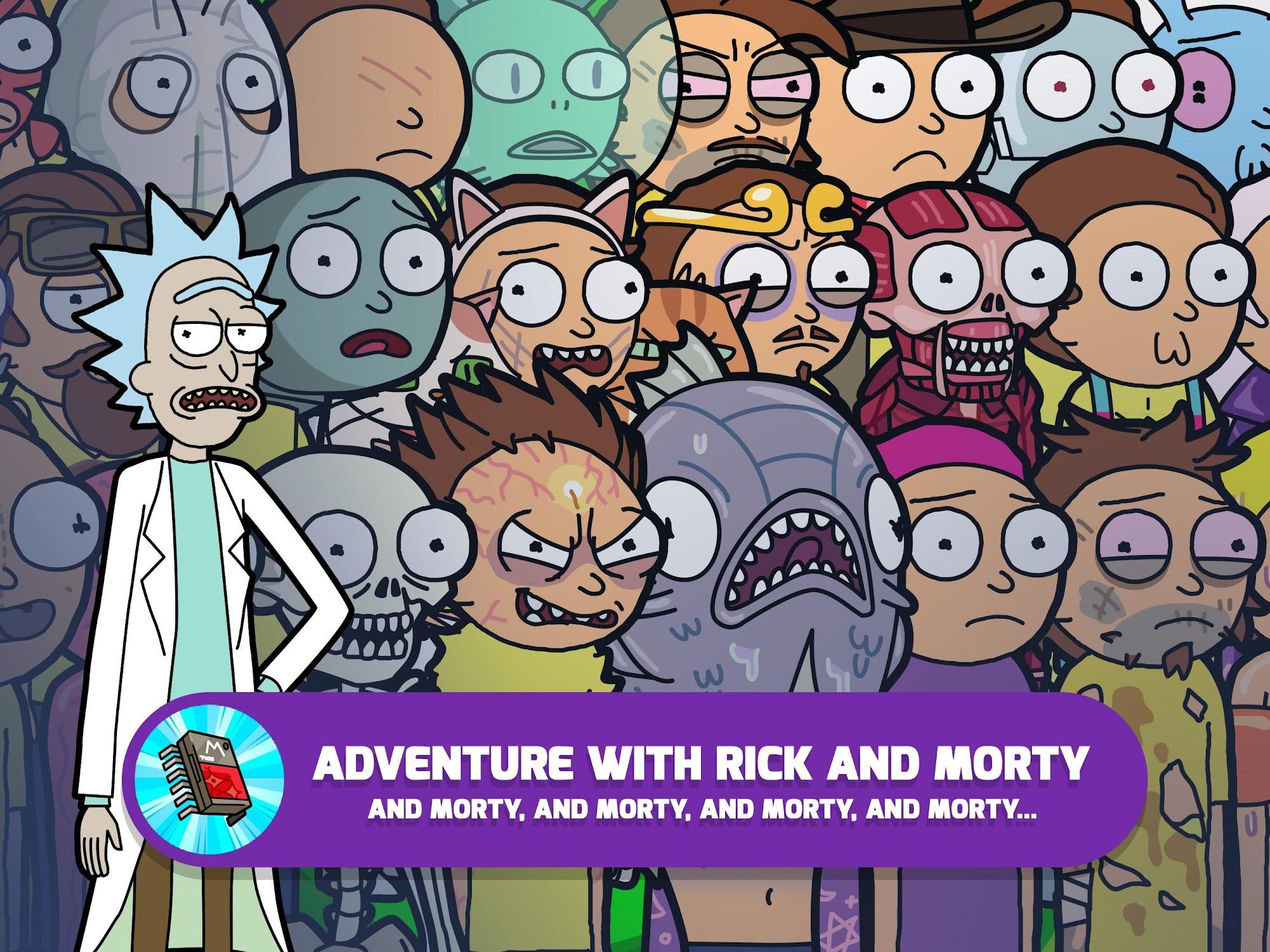 Pocket Mortys screenshot #7