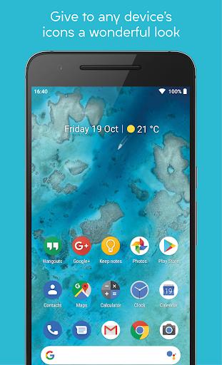 pixelful icon pack - apex/nova/go screenshot 1