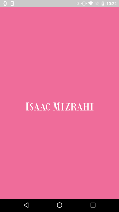 Isaac Mizrahi Smartwatch- screenshot