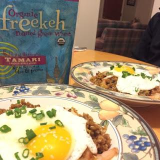 Kimchi Freekeh Fried Rice