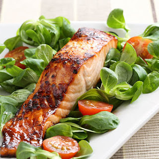 Maple Glazed Wild King Salmon