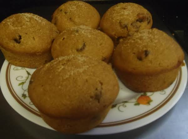 Pumpkin Muffins With Chocolate Chips Recipe