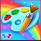 Paint Sparkles Draw icon
