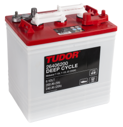 Tudor deep-cycle batteri 6V/240Ah