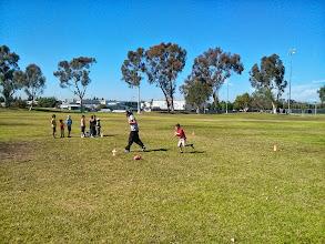 Photo: Clark Learns Football