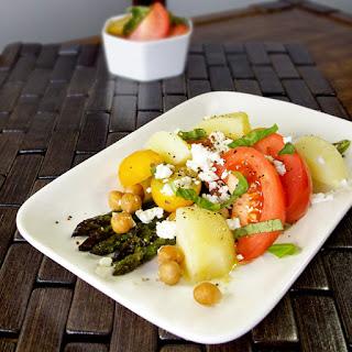 Roasted Asparagus Market Salad
