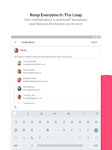 Copper - CRM for G Suite Screenshot