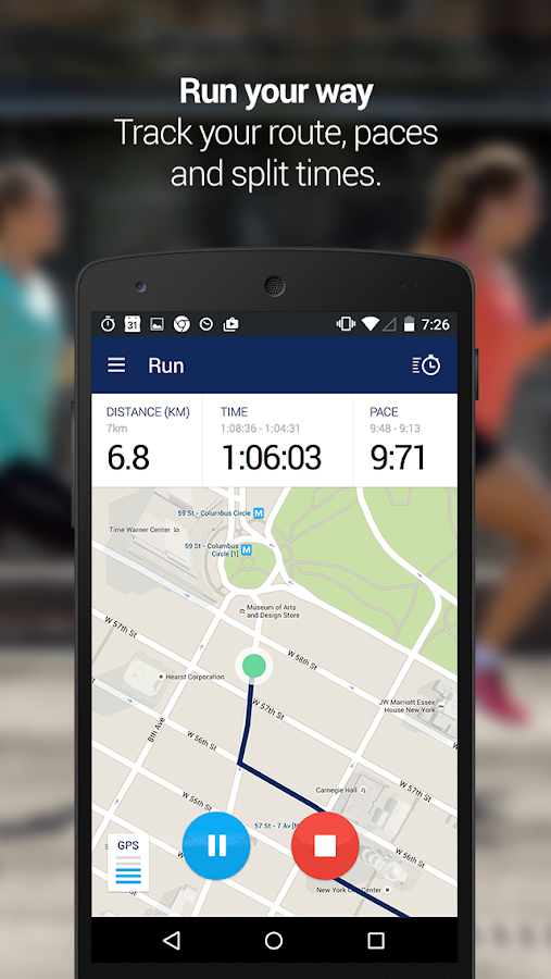 MY ASICS Run Training – Capture d'écran