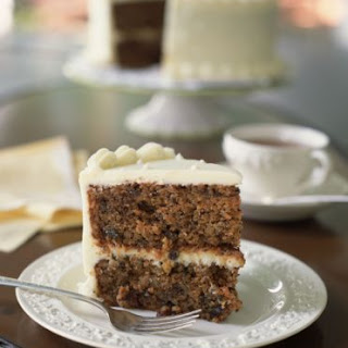 Buttermilk Spice Cake with Brown Sugar Frosting.