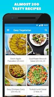 Easy Vegetarian - náhled