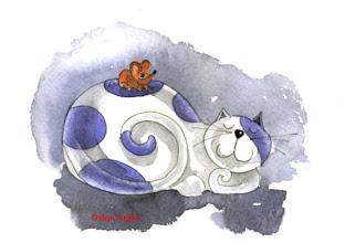 Photo: Cat & Mouse
