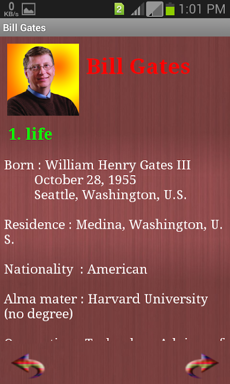 Bill Gates Biography & Quote – (Android Apps) — AppAgg
