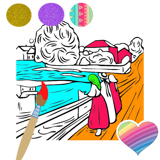 Painting Coloring Pages Easy Game For Kids Google Play De