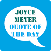 Joyce Meyer Quote of the Day
