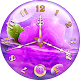 Purple Clock Live Wallpaper (app)