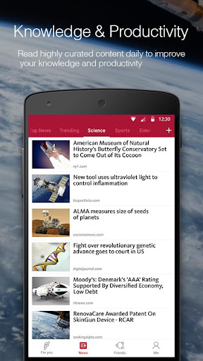 FeedNews: AI curated news app screenshot 4