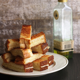 Mini Grilled Truffle Cheese Sandwiches