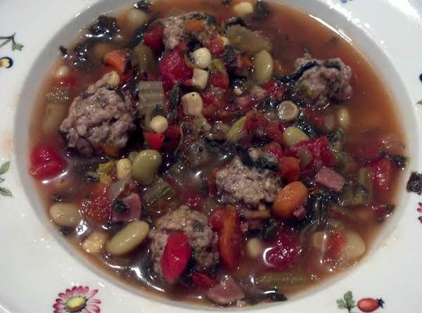 Spicy Pork Meatball Soup