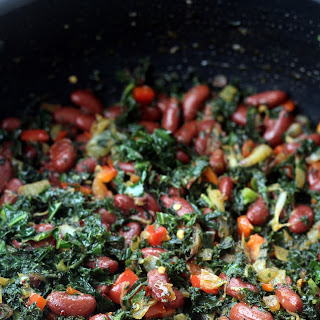 Kale and Beans.
