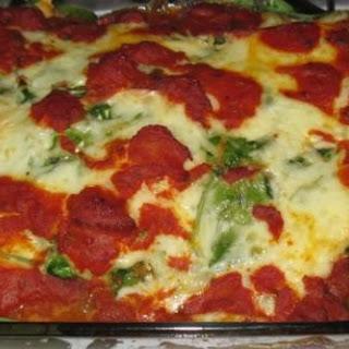 Eggplant Spinach Ricotta Bake