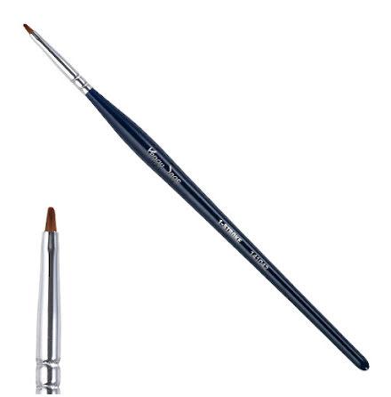 1-stroke flat-tipped pensel, S