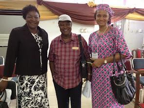Photo: Drs Apakama, Nwajiaku and Prof Madubuike