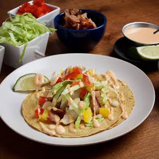 Hawaiian Fish Tacos.