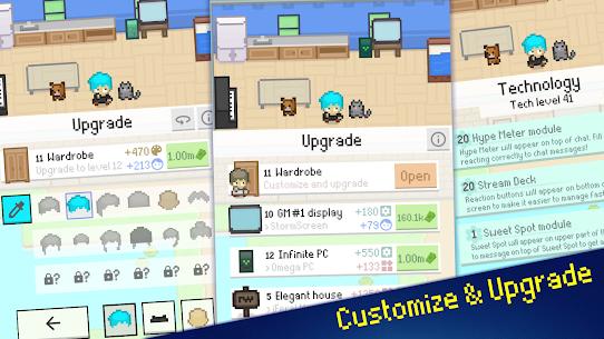 Streamer Sim Tycoon Mod Apk (Free Shopping) 8