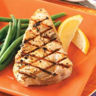 Grilled Rosemary Swordfish Recipe
