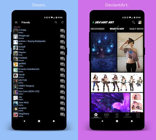 [Substratum] yoru. for Samsung Oreo 25 screenshots 8