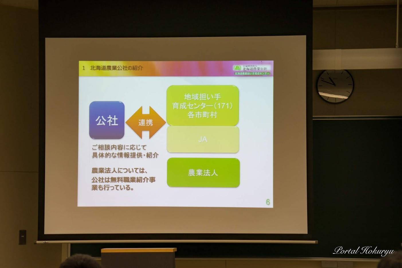 (公財)北海道農業公社の業務