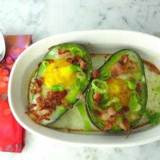 Baked Eggs in Avocado.