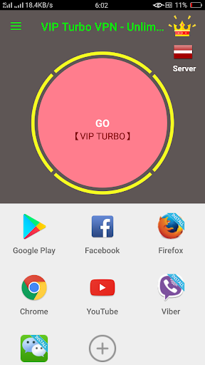 VIP Turbo VPN - Unlimited Free Vip Vpn screenshot 1