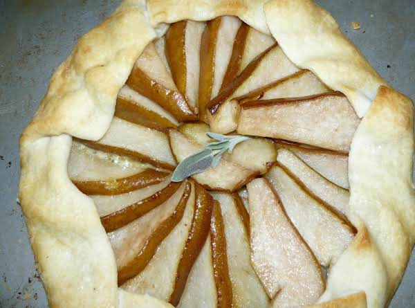 Pear, Sage & Blue Cheese Tart Recipe