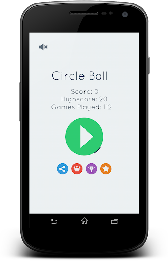 Keep circle pong: casual game