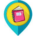 Diary - journal, notebook icon