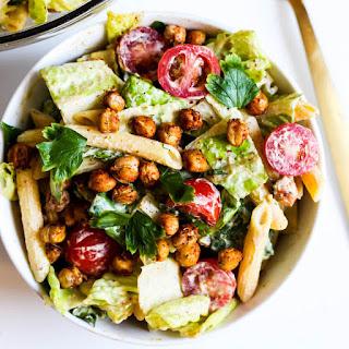 Chickpea Caesar Pasta Salad (Vegan & Gluten-Free) Recipe
