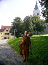Photo: Domberg (Bodhi Vihara behind the tree)