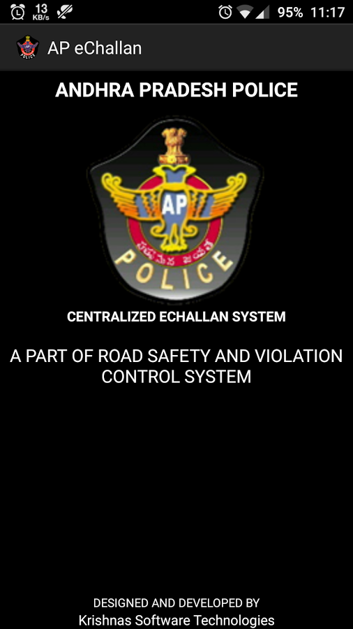 AP eChallan- screenshot