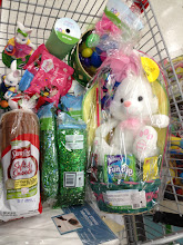 Photo: Almost ready to check out! I've got everything I need for a super cute Easter tabletop.