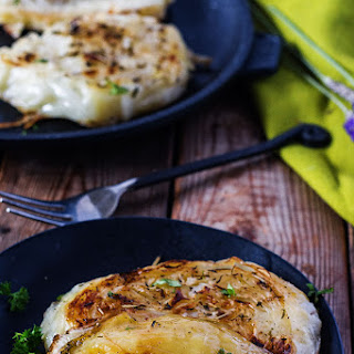 Roasted Cabbage Steaks.