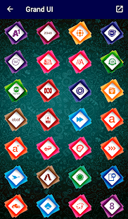 Grand - Icon Pack Screenshot