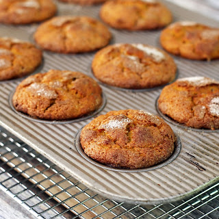 Sweet Potato Muffins with Cinnamon Sugar Topping Recipe