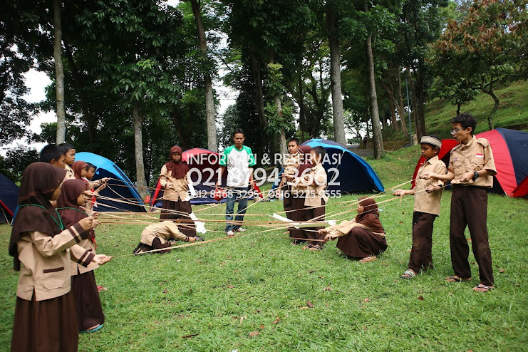 Wana   Bukit Hambalang  Posisi Camp Family