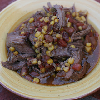 CrockPot Tex Mex Pot Roast.