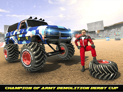 Army Monster Truck Demolition : Derby Games 2020 for PC-Windows 7,8,10 and Mac apk screenshot 7